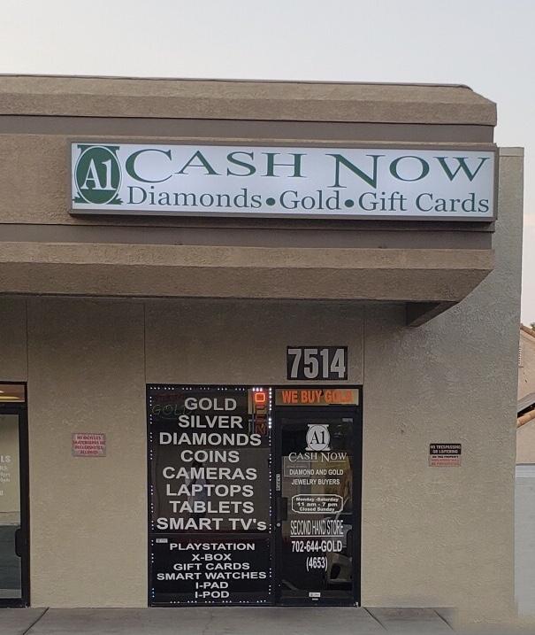 A1 Cash Now -7514 Westcliff Dr, Las Vegas, NV 89145